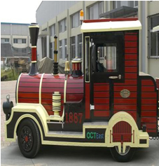 diesel trackless train for sale